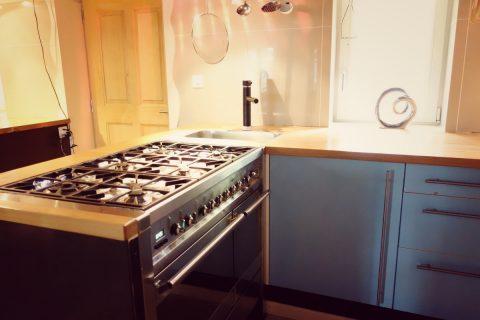 Küche Seitenansicht