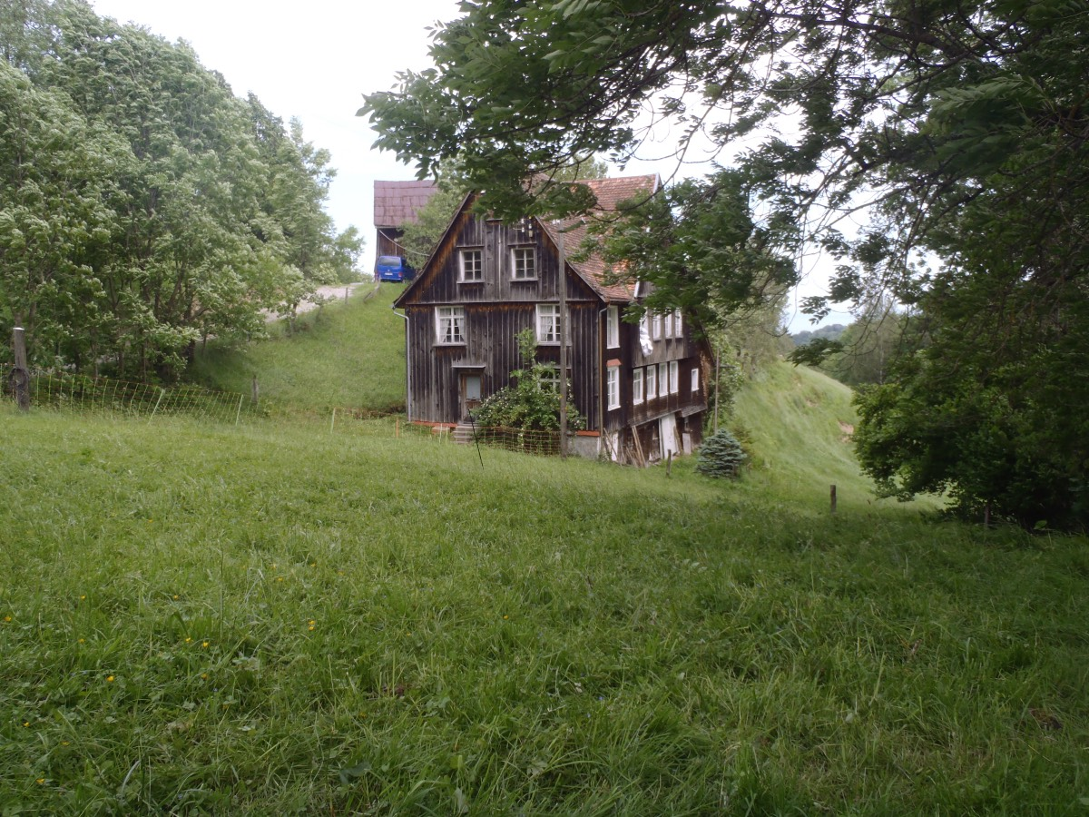 Altes Haus Südansicht