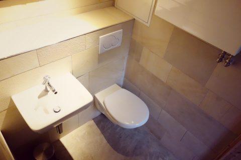 Vorbau-Waschbecken-Wc